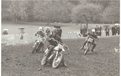 Motocross-Rennen 1964 in Herrenberg